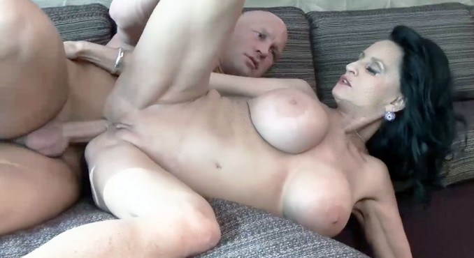 Busty milf gets assfucked